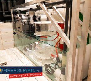 Pomieszczenie techniczne do zarządzania systemem morskim 2850 litrów