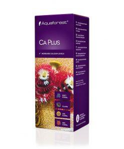 Aquaforest CA PLUS 150 ml Calcium Wapno jest to doskonały preparat, który pomoże nam podnieść poziom wapnia w akwarium morskim. Prawidłowy poziom wapnia w akwarium powinien wynosić 400 - 440 mg/l.