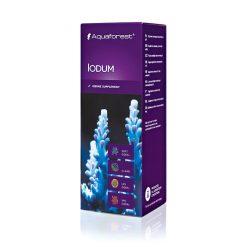 Aquaforest Iodum 50 ml Jod - jest to suplement, który zawiera skoncentrowany jod. Jod jest bardzo ważnym składnikiem dla koralowców oraz bezkręgowców, ponieważ u korali twardych zwiększa wybarwienie koloru ciemnoniebieskiego oraz fioletowego.