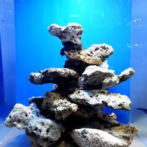 Klejona żywa skała 24x22x21 3 kg