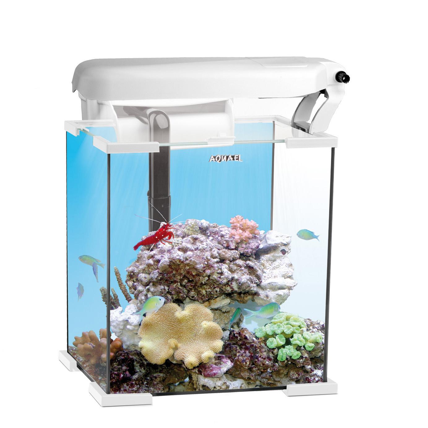 Zestaw Akwarium Nanoreef Biały 30 L Aquael Reefguard