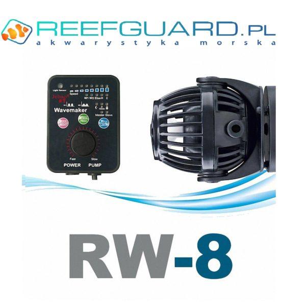 Jebao jecod rw 8 falownik z kontrolerem 8000l Reefguard akwarytyka morska