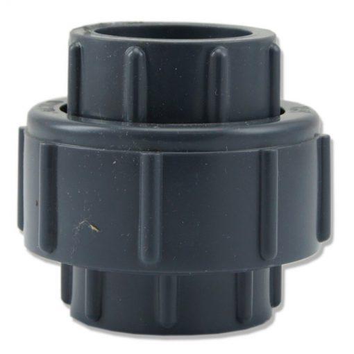 Dwuzłączka PCV 20mm z uszczelką