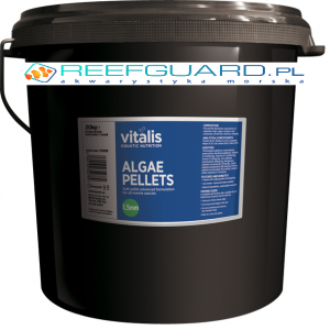Vitalis Algae Pellets Xs 1mm 20kg