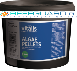 Vitalis Algae Pellets S 1,5mm 300g 500ml