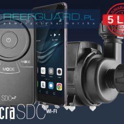 ompa SICCE SYNCRA SDC 7.0 WiFi przepływ od 3000 do 7000 l/h
