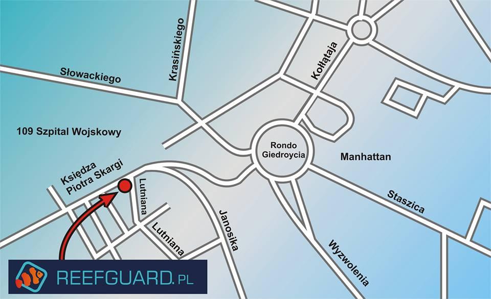 Mapa Reefguard Piotra Skargi