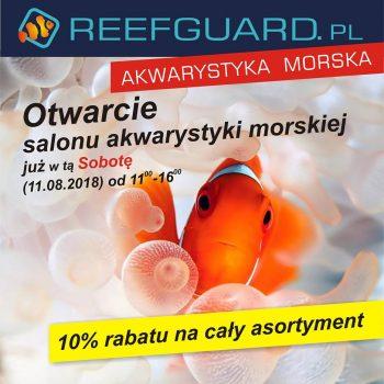 Otwarcie Reefguard 350x350