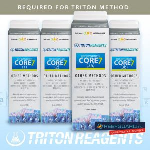 TRITON Core7 Reef Supplements ( Other methods ) SET