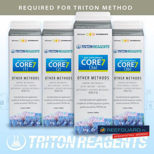 TRITON Core7 Base Elements other methods 1000ml reefguard szczecin