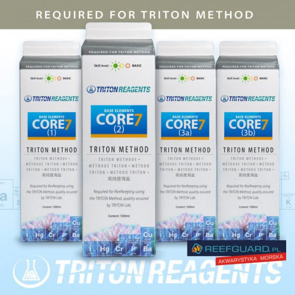 TRITON Core7 Base elements triton metod 1000ml Reefguard Szczecin