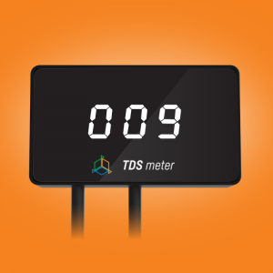 Reef Factory - TDS meter - monitor wody filtra odwróconej osmozy