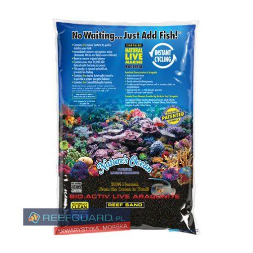 Piasek żywy Natural Sand Black 9kg