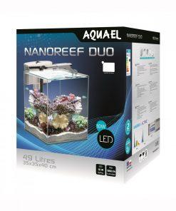 AQUAEL Zestaw Biały 49 litrów Nano Reef Duo 35