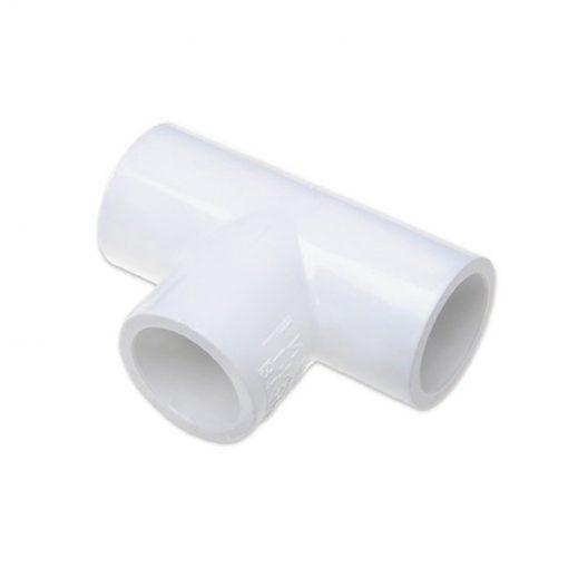 Trójnik PCV 90st 50mm biały