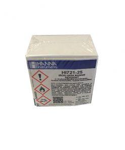 Hanna HI 721-25 Fe Reagent do żelaza (25szt)