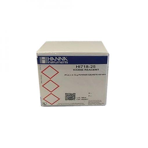 Hanna HI 718-25 reagent do jodu I (25szt)