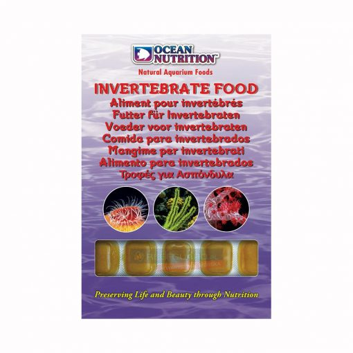 Invertebrate Food 100g Ocean Nutrition Frozen