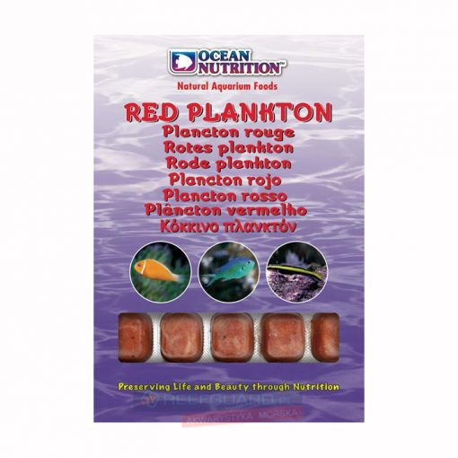 Red Plancton 100g Ocean Nutrition Frozen