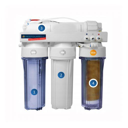 Filtr do produkcji wody osmotycznej DEMI RO