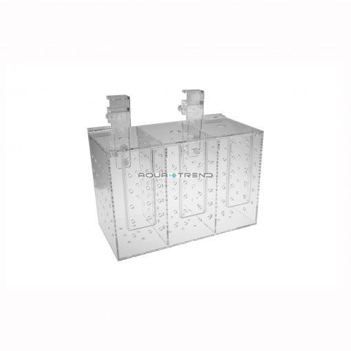AQUA-TREND Trzykomorowy pojemnik aklimatyzacyjny