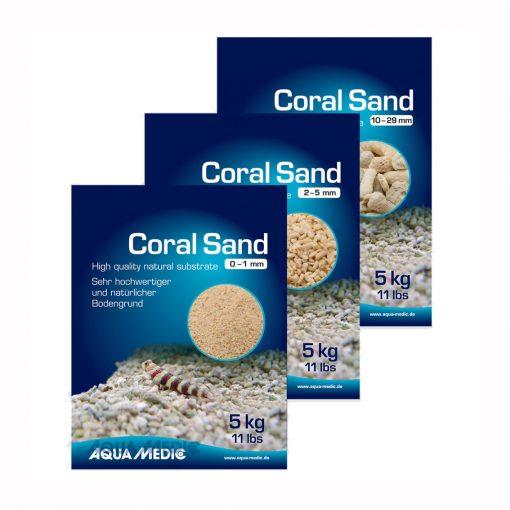 CORAL SAND 10-29mm 5kg AquaMedic OPAKOWANIA