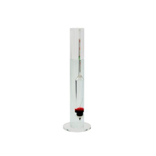 GROTECH Areometr 260mm salimetr + szklany cylinder pomiar zasolenia