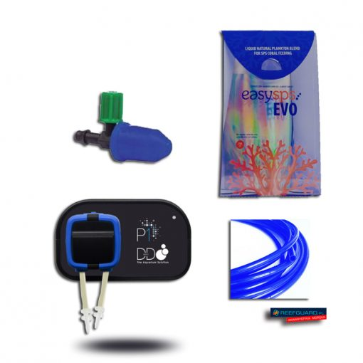 ZESTAW do automatycznego karmienia korali H2Ocean P1 Pompa D-D dozująca 1 kanał + adapter + EasySPS Evo Prof 250ml