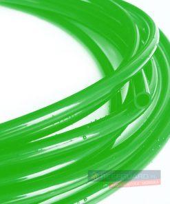 Wężyk silikonowy 3x5mm green do pompy dozującej wysokiej jakości zielony 1 metr