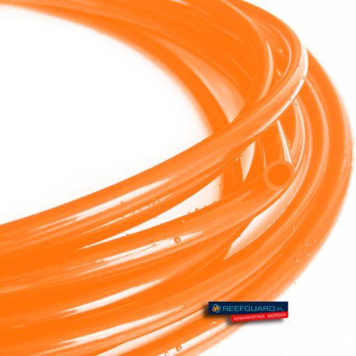 Wężyk silikonowy 3x5mm orange do pompy dozującej wysokiej jakości pomarańczowy 1 metr