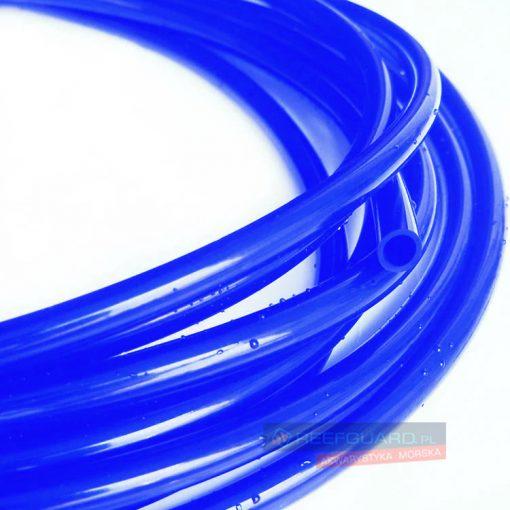 Wężyk silikonowy 3x5mm blue do pompy dozującej wysokiej jakości niebieski 1 metr