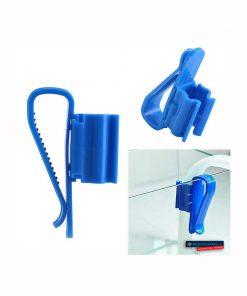 Uchwyt do węży plastikowy niebieski